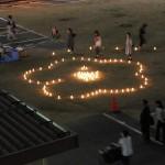 心と灯りのバトンリレー 旧梅田東小学校メモリアルキャンドルナイト